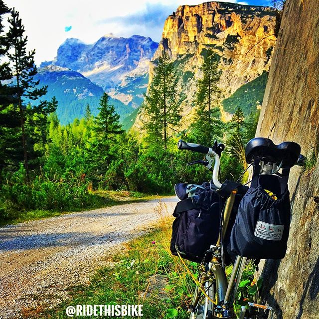A bike tour through inspirational and beautiful scenery.