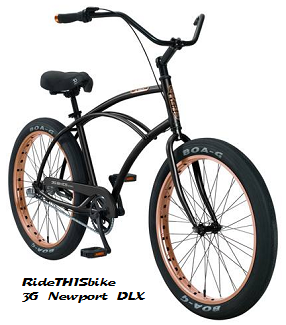 3G Newport DLX cruiser bicycle