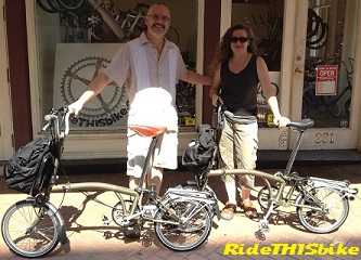 Rent a Brompton from RideTHISbike