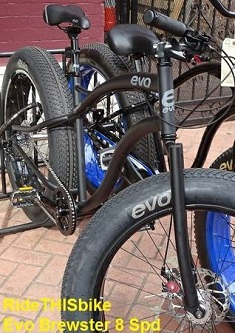 EVO Brewster 8 speed fat bike