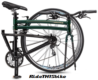 2015 Montague FIT bicycle folded