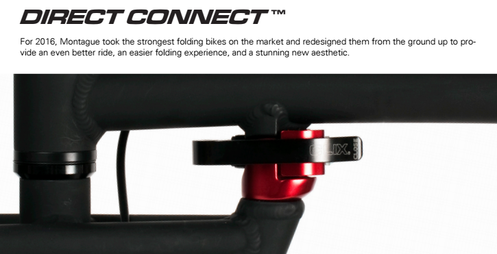 Montague Direct Connect frame quick release