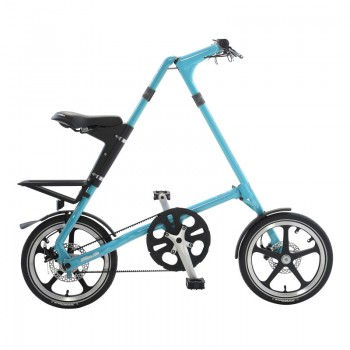 Strida LT bicycle unfolded