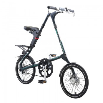 Strida SX bicycle unfolded