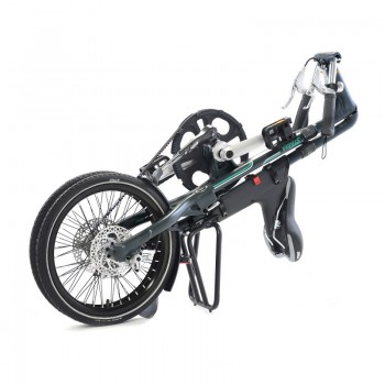 Strida SX folding bike folded