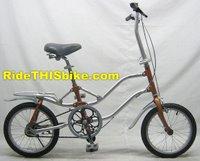 New Gekko folding bike with 16 inch wheels
