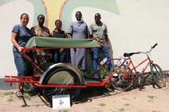 BEN bike ambulance Africa