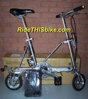 CarryMe DS folding bike