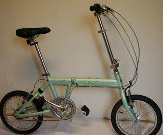 DownTube Mini folding bike