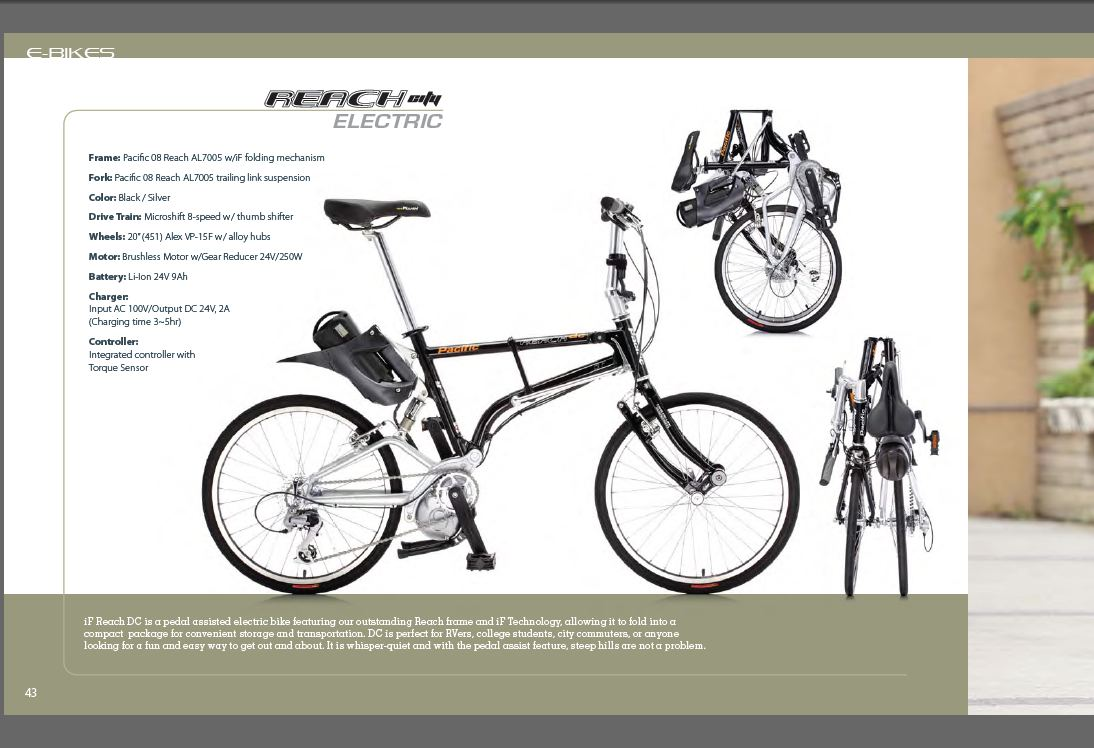 Electric Bikes Cincinnati IF Reach electric folding bike