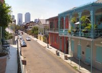 Balcony view - New Orleans Streetscape