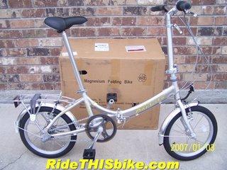 Aerlite Folding Bike