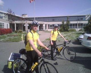 Next Generation Trans Canada Bike Tour