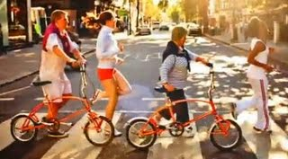 Bigfish folding bikes on Abbey Road