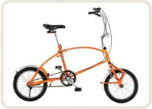 BigFish folding bicycle - unfolded