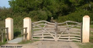 cattle guard for bicycles - Mallorca, Spain