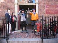 Ride For Climate start - Boston,MA