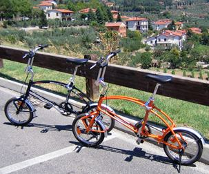 Bigfish bikes in Tuscany