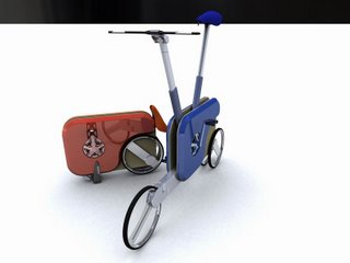 Another stab at the suitcase folding bike