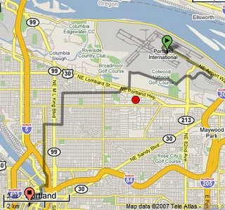 byCycle.org bike route map - Portland Oregon