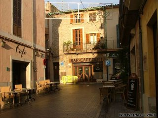 A street in Cantiu, Mallorca