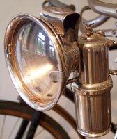 carbide acetylene bike lamp