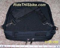 Kent folding bike carry bag - folded w/carry strap