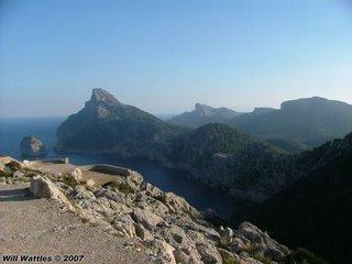 Mountain biking the Formentor Peninsula - Mallorca, Spain
