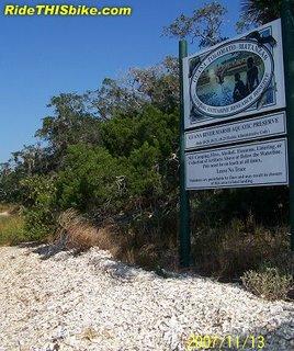 Sign - Guana Tolomato Matanzas National Estuarine Research Reserve