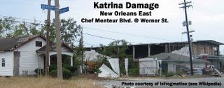 Hurricane Katrina Damage - New Orleans East