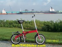 Kent Ultralite 1 Speed folding bike