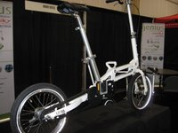 2008 model Mobiky Genius folding bike w/16 inch wheels