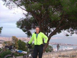 Montague MX folding bike - Palma, Mallorca, Spain