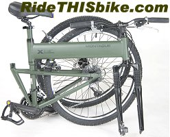 Montague Paratrooper Folding Bike
