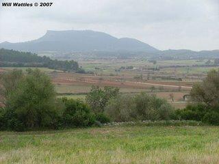 End of my bike ride - Mt Randa's peak, Mallorca, Spain