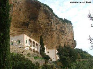 Santuari de Gracia on Mt Randa - Mallorca, Spain