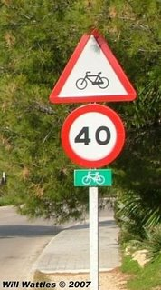 Share the road with bicycles - Mallorca