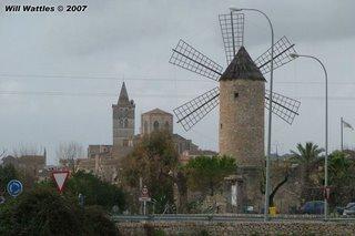 Ancient town of Sineu, Mallorca, Spain