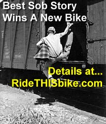 best sob story wins bike