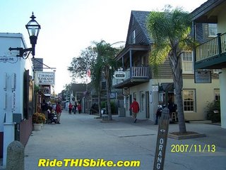 Historic St Augustine Florida - Orange St
