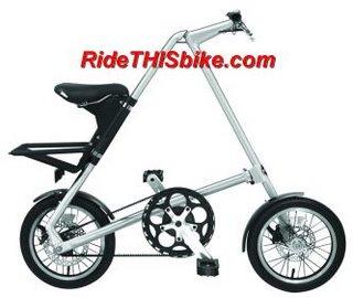 Strida Mini folding bike
