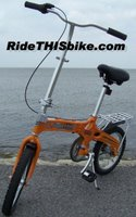 Superlite folding bike