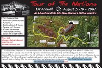 Tour of the Nations topo map
