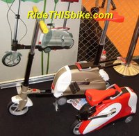 Trade show photo - Carryable Folding Bike