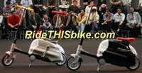 Trade show photo - 2 Carryable Folding Bikes