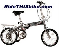 Kent Ultralite folding bike